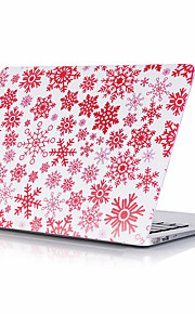 snow flake computer mønster shell til macbook air11 / 13 pro13 / 15 pro med retina13 / 15 macbook12