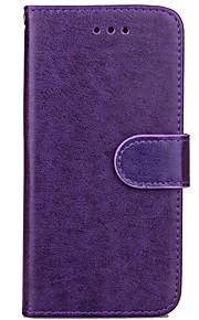 karzea colore solido TPU e la cassa del raccoglitore cuoio dell'unità di elaborazione con il basamento per iphone7 Apple / iPhone 7 più