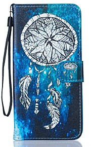 Ganzkörper Brieftasche / Kartenhalter / mit Ständer Traumfänger PU - Leder Hart Fall-Abdeckung für Apple iPhone 7 plus / iPhone 7