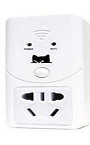 Cat housekeeper Cabeada Others Wifi smart home wireless socket Branco