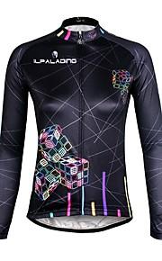 ILPaladin Sport Women Long Sleeve Cycling Jerseys  CX712 Rubik's Cube