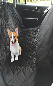 M/L Pet Travel Car Trunck Seat Cover Breathable And Washable Quilted Soft Short Plush Dog Auto Bed Mats