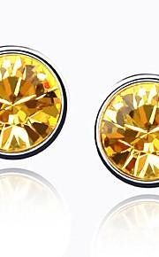 Øreringe Circle Shape Smykker 1 par Mode Daglig Legering Dame Sølv