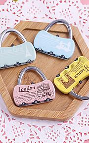 Travel Luggage Lock / Coded Lock Luggage Accessory Metal