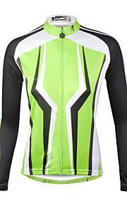 ILPaladin Sport Women Long Sleeve Cycling Jerseys  CX713 Green