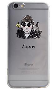Coque Motif Dessin-Animé TPU Doux Couverture de cas pour Apple iPhone 6s Plus/6 Plus / iPhone 6s/6 / iPhone SE/5s/5