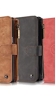 Per Samsung Galaxy Note7 Porta-carte di credito / A portafoglio / Con supporto / Con chiusura magnetica Custodia Integrale CustodiaTinta