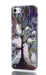 cassa del telefono TPU trasparente alberi colorati filo materiale modello di disegno per iPhone 7 6S 6 Plus