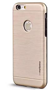 Skal Stötsäker Solid Färg TPU Hård Fallet täcker för Apple iPhone 7 Plus / iPhone 7 / iPhone 6s Plus/6 Plus / iPhone 6s/6