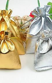 Smykketasker Stof 1pc Gylden / Sølv