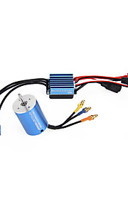 2838 3600KV 4P Sensorless Brushless Motor & 35A ESC for 1/14 1/16 1/18 RC Car