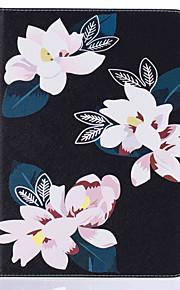 Für mit Halterung / Flipbare Hülle / Muster Hülle Handyhülle für das ganze Handy Hülle Blume Hart PU - Leder Apple iPad 4/3/2