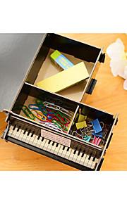 Desktop creative DIY pencil box office stationery to receive multifunctional shelf