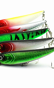 1 pcs Pencil Pencil Black / Green / White / Yellow / Red 5.7 g Ounce mm inch,Hard Plastic Bait Casting