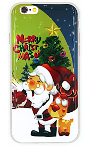 Per Custodia iPhone 7 / Custodia iPhone 6 / Custodia iPhone 5 IMD Custodia Custodia posteriore Custodia Natale Morbido TPU AppleiPhone 7