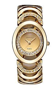 Mulheres Relógio Elegante / Relógio de Moda / Relógio de Pulso Quartz / Aço Inoxidável Banda Vintage / Bracelete / Legal / CasualPrata /