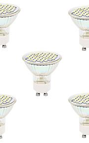 3W GU10 / GX5.3 LED-spotlampen MR16 48led SMD 2835 300lm lm Warm wit / Koel wit Decoratief V 5 stuks