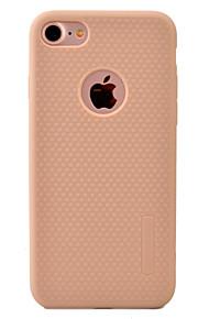 For Etui iPhone 7 / Etui iPhone 7 Plus Støvtett Etui Bakdeksel Etui Ensfarget Myk TPU Apple iPhone 7 Plus / iPhone 7