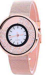 Mulheres Relógio de Moda / Relógio de Pulso Quartz / Lega Banda Legal / Casual Prata / Dourada / Ouro Rose marca