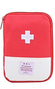 Porta-Comprimidos para Viagem Portátil para Organizadores para ViagemAzul Escuro Vermelho