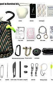 Viaje Botella y Vaso de Viaje Accesorios de Emergencia para Viaje Portable Tejido