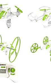 Others * Drone 6 Eixo 4CH 2.4G Quadcóptero RC Retorno Com 1 Botão / Modo Espelho Inteligente / Vôo Invertido 360°