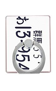 Fixation Support pour Téléphone Bureau / Outdoor Anneau de Maintien / Rotation 360° Plastique for Téléphone portable