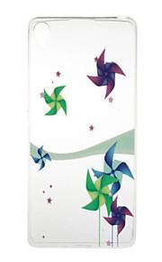 のために クリア / パターン ケース バックカバー ケース カトゥーン ソフト TPU Sony Sony Xperia X / Sony Xperia XA / Sony Xperia E5