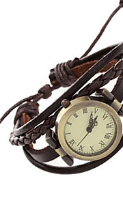 Mulheres / Infantil Relógio de Moda / Bracele Relógio / Relógio de Pulso Quartz / Quartzo Japonês / / Punk PU BandaVintage / Boêmio /