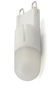 2W Led Ceramic Bulb G9 Base Home Spotlight 220V-240V AC 2800-3500K 5000-6500K 180 Beam Angle (1 Piece)