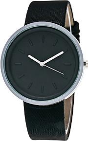 Mulheres Relógio de Moda / Relógio de Pulso Quartz / PU Banda Legal / Casual Preta / Branco / Marrom / Verde marca
