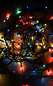 ledet lysene dobbel farge lys festival Julelys tilfeldig farge
