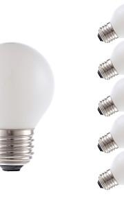 2W E26/E27 LED-glødepærer G16.5 2 COB 150 lm Varm hvit Dimbar V 6 stk.