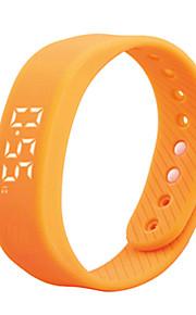 DMDG T5 Pulsera Smart Resistente al Agua / Long Standby / Calorías Quemadas / Podómetros / Listo para vestir / 3D / LED USBMicrosoft