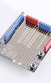 Crab Kingdom® Crab Kingdom Model Material Prototype Expansion Board with Bread Board Electronic Components 1 Installed