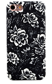 For Mønster Etui Bagcover Etui Blomst Blødt TPU for Apple iPhone 7 Plus / iPhone 7 / iPhone 6s Plus/6 Plus / iPhone 6s/6