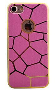 För Plätering / Mönster fodral Skal fodral Geometriska mönster Mjukt TPU för AppleiPhone 7 Plus / iPhone 7 / iPhone 6s Plus/6 Plus /