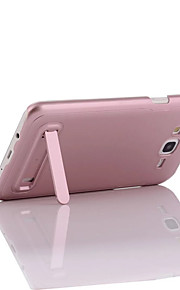 For Samsung Galaxy J7 with Stand Case Back Cover Case Solid Color Hard PC