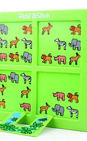 puslespil Brætspil / Pædagogisk legetøj / Puslespil Byggesten DIY legetøj Firkantet Plastik Kongeblå / Gråt Hobbylegetøj