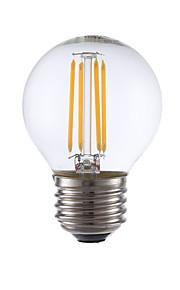 3.5 E26/E27 LED-glødepærer G16.5 4 COB 350 lm Varm hvit Dimbar AC 110-130 V 1 stk.