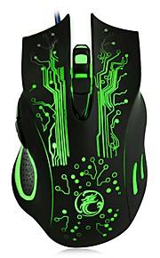 2400DPI LED Colorfull Change USB Wired Gaming Mouse Mice for Laptop Desktop Gamer