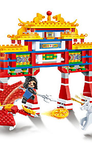 Brinquedos de Faz de Conta / Blocos de Construir para presente Blocos de Construir Modelo e Blocos de ConstruçãoArquitetura Chinesa /