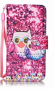 Many Owls Painting PU Phone Case for apple iTouch 5 6