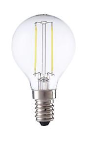 2W E14 LED-glødepærer P45 2 COB 250 lm Varm hvit / Kjølig hvit AC 220-240 V 1 stk.