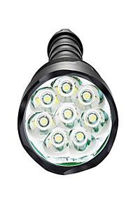 Belysning LED-Ficklampor LED 3800 Lumen 5 Läge LED 18650 / AAA Bimbar / Vattentät / Superlätt / High PowerCamping/Vandring/Grottkrypning