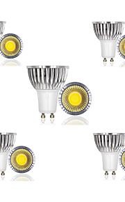 3W E14 / GU10 / GU5.3 / B22 / E26/E27 LED-spotpærer 1 COB 300 lm Varm hvit / Kjølig hvit / Naturlig hvit AC 85-265 V 10 stk.