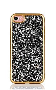 Für Strass / Beschichtung Hülle Rückseitenabdeckung Hülle Glänzender Schein Weich TPU für Apple iPhone 7 plus / iPhone 7 / iPhone 6s/6