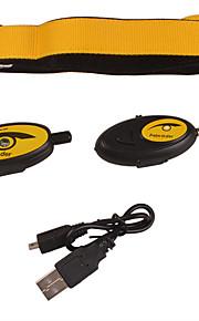 Kediler / Köpekler GPS yaka Dahil Piller / GPS / Elektronik/Elektrik / Şarj Edilebilir / Kablosuz Tek Renk / Geometrik Siyah / Sarı