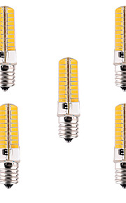 5pcs YWXLight® Dimmable E17 7W 80 SMD 5730 500-700 LM Warm White / Cool White LED Corn Bulbs AC 110V / AC 220V
