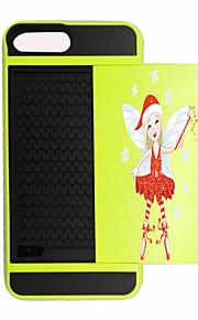 Für Kreditkartenfächer / Stoßresistent Hülle Rückseitenabdeckung Hülle Weihnachten Hart PC für AppleiPhone 7 plus / iPhone 7 / iPhone 6s